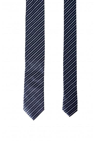 Hugo Boss Men's Multi-Color Striped 100% Silk Tie: Picture 2