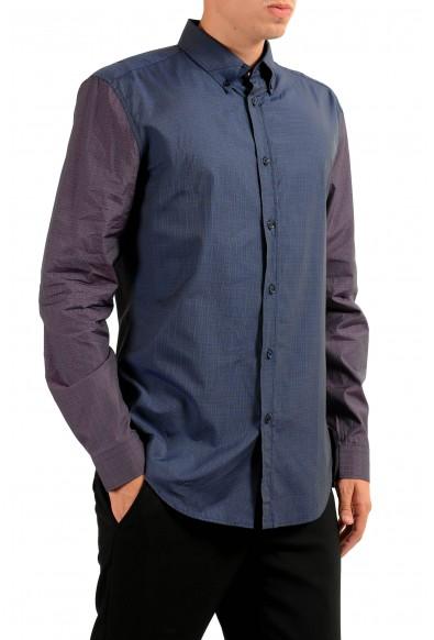 Versace Men's Two Tones Long Sleeve Dress Shirt: Picture 2