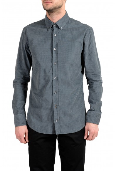 "Hugo Boss ""Mabsoot"" Men's Slim Corduroy Long Sleeve Casual Shirt"