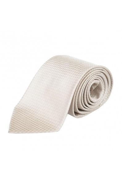 Etro Men's 100% Silk Beige Neckwear Tie