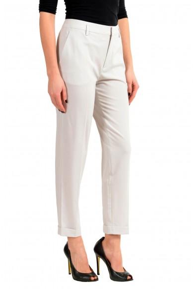 Maison Margiela 1 Wool Light Gray Women's Casual Pants: Picture 2