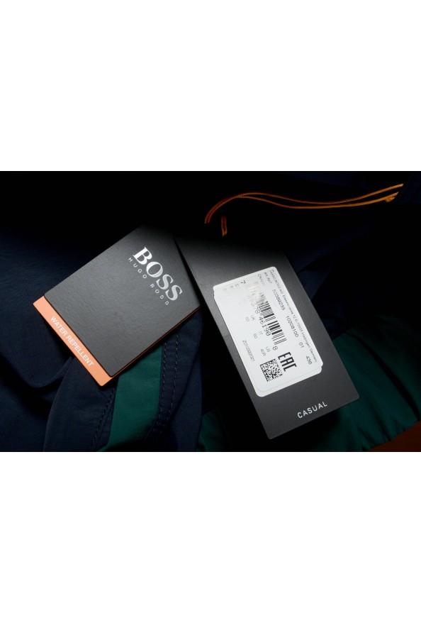 "Hugo Boss ""Okroos"" Men's 1/2 Zip Multi-Color Hooded Windbreaker Jacket: Picture 6"