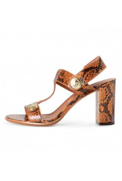 Salvatore Ferragamo Women's Edict P Python Skin High Heel Sandals Shoes: Picture 2