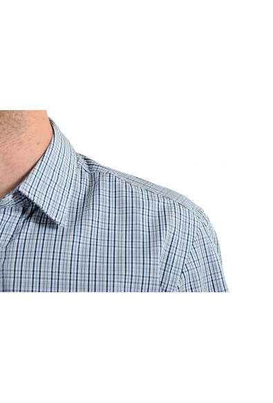 """Hugo Boss Men's """"Ronni_53"""" Slim Fit Plaid Long Sleeves Casual Shirt: Picture 2"""