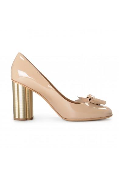 "Salvatore Ferragamo Women's ""AVOLA85"" Patent Leather High Heel Pumps Shoes: Picture 2"