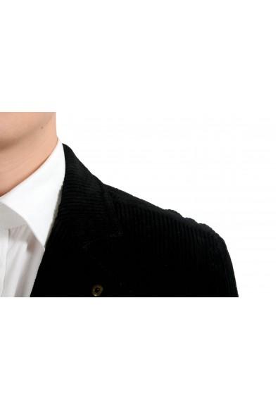 Dolce & Gabbana Men's Black Corduroy Three Button Blazer Sport Coat: Picture 2