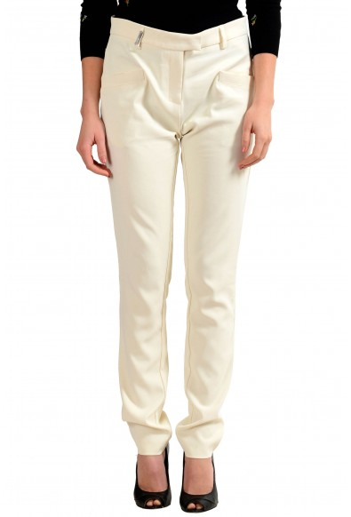 Just Cavalli Women's Off White Casual Pants