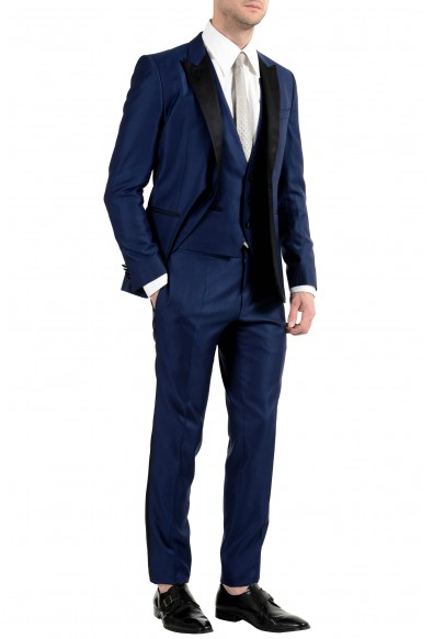 """Hugo Boss """"Rendal/WildenWE"""" Men's Wool Extra Slim One Button Three-Piece Suit: Picture 2"""