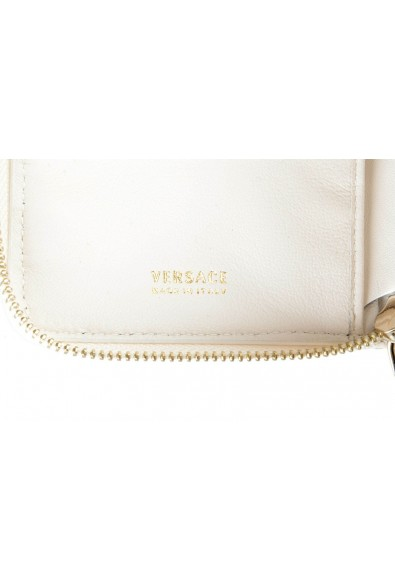 Versace 100% Leather White Women's Wallet: Picture 2