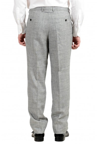 """Hugo Boss """"Novan5/Ben2"""" Men's Slim Wool Silk Linen Gray Two Button Suit: Picture 2"""