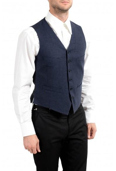 John Varvatos Men's Linen Wool Button Up Vest : Picture 2