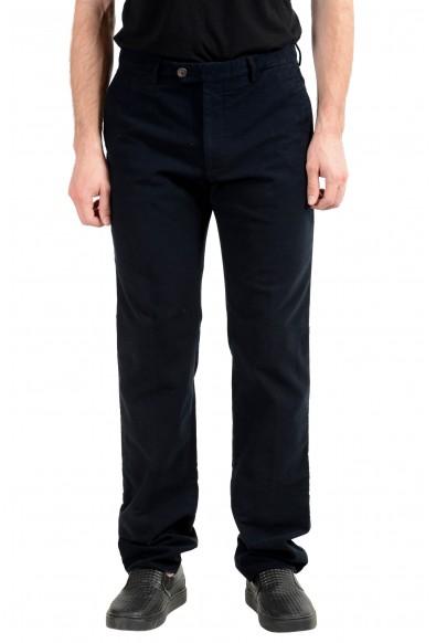 Malo Men's Black Stretch Casual Pants
