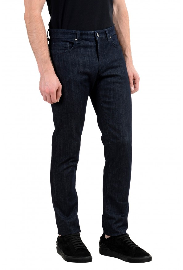 """Versace Collection """"Trend"""" Men's Dark Gray Stretch Classic Jeans: Picture 2"""
