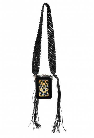 Proenza Schouler Women's Multi-Color Velvet Leather Clutch Shoulder Bag