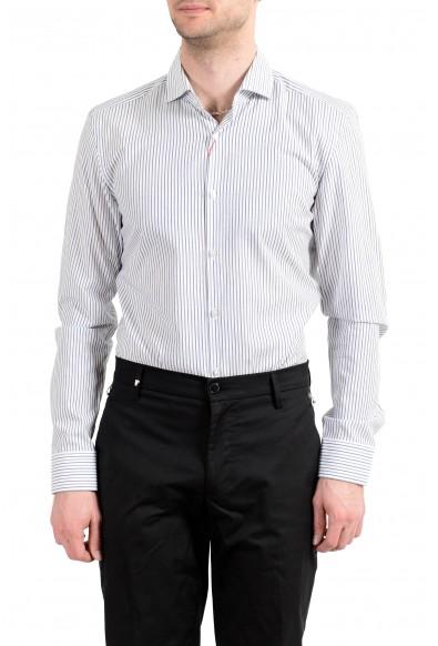 Hugo Boss Men's C-Jason Slim Fit Striped Long Sleeve Dress Shirt