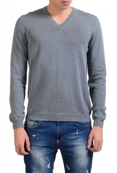 Malo V-Neck Men's Faded Gray Sweater