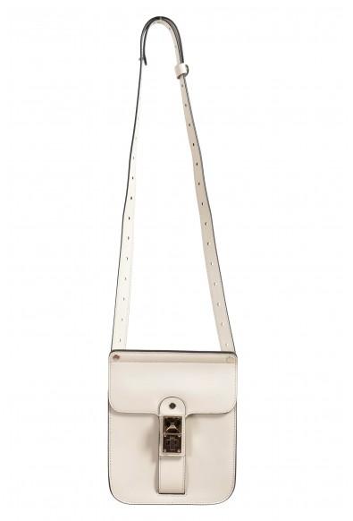 Proenza Schouler Women's Light Beige Leather Crossbody Shoulder Bag