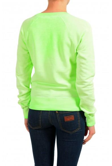Dsquared2 Women's Green V-Neck Sweatshirt: Picture 2