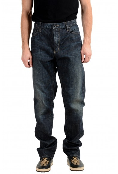 John Varvatos Star USA Bowery Men's Blue Slim Straight Leg Jeans