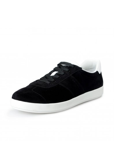 Prada Men's 4E3466 Black Suede Leather Fashion Sneakers Shoes
