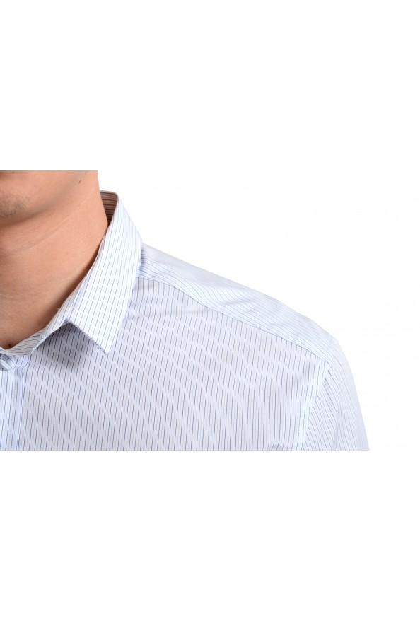 Dolce & Gabbana Men's Striped Long Sleeve Dress Shirt: Picture 4