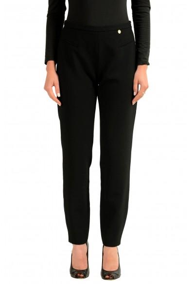 Versace Collection Black Women's Casual Pants