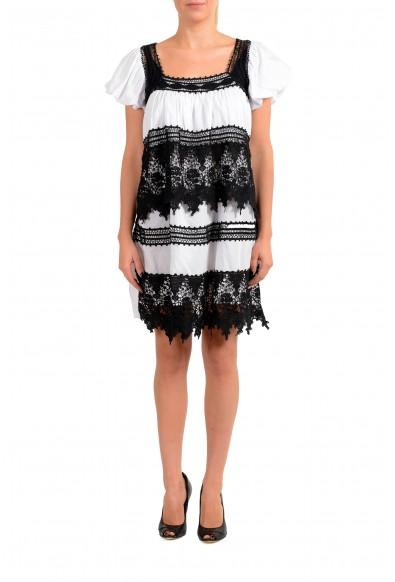 Just Cavalli Women's Lace Trimmed Shift Dress
