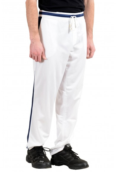 Roberto Cavalli Gym Men's White Fleece Track Sweat Pants : Picture 2