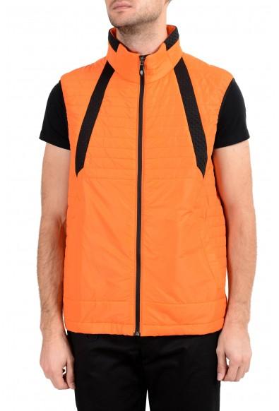 """Hugo Boss """"Vado1"""" Men's Orange Lightly Insulated Full Zip Vest"""