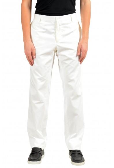 Dolce & Gabbana Men's White Casual Pants
