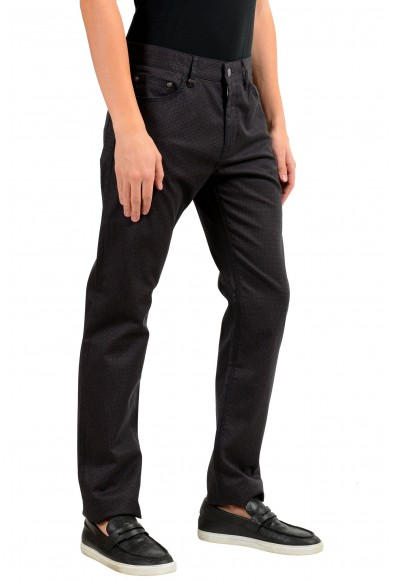 "Hugo Boss ""Maine3-20"" Men's Plaid Regular Fit Straight Leg Jeans: Picture 2"