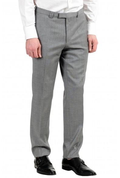 """Hugo Boss """"Adris4/Heilon"""" Men's 100% Wool Gray Two Button Suit: Picture 2"""
