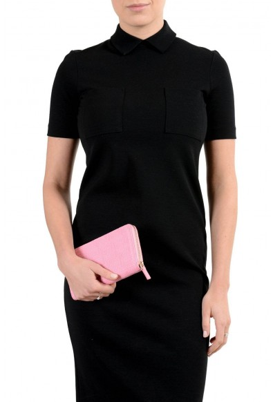 Versace 100% Leather Pink Women's Wallet: Picture 2