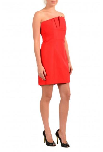 Dsquared2 Women's True Red Mini Dress : Picture 2