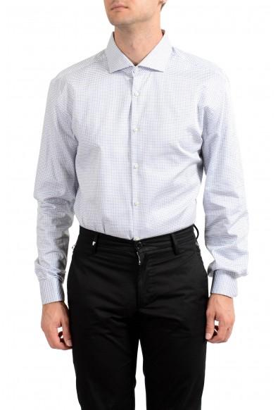 "Hugo Boss Men's ""Jaiden"" Slim Fit Plaid Long Sleeve Dress Shirt: Picture 2"