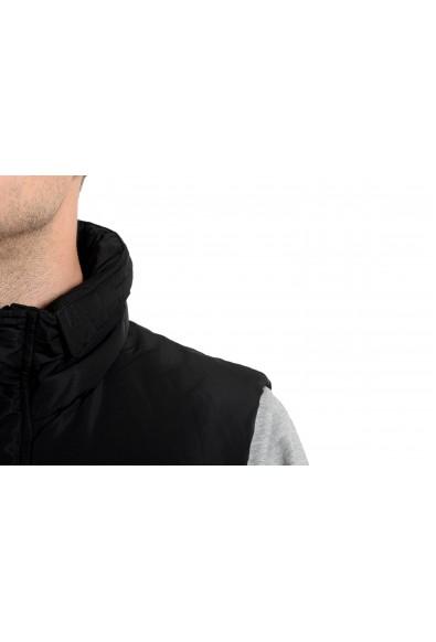 Roberto Cavalli Men's Duck Down Black Full Zip Vest: Picture 2