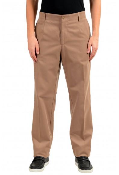 Dolce & Gabbana Men's Beige Casual Pants