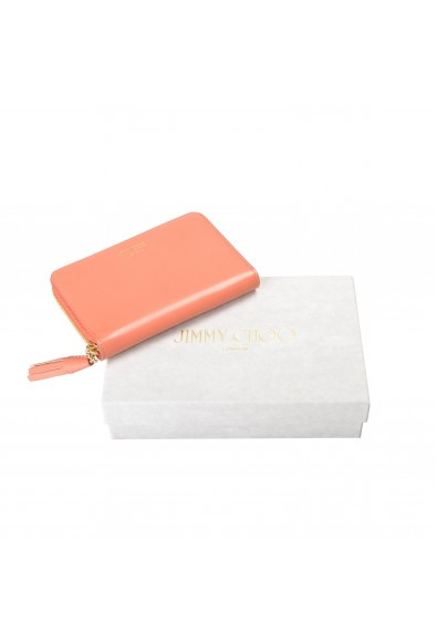 """Jimmy Choo Women's Powder Pink Leather """"ATHINI"""" Zip Around Wallet: Picture 2"""