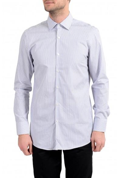 "Hugo Boss ""MarleyUS"" Men's Sharp Fit Multi-Color Long Sleeve Dress Shirt"
