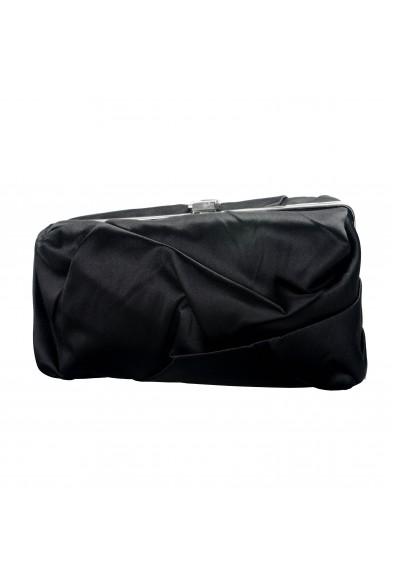 Proenza Schouler Women's Black Satin Clutch Bag: Picture 2