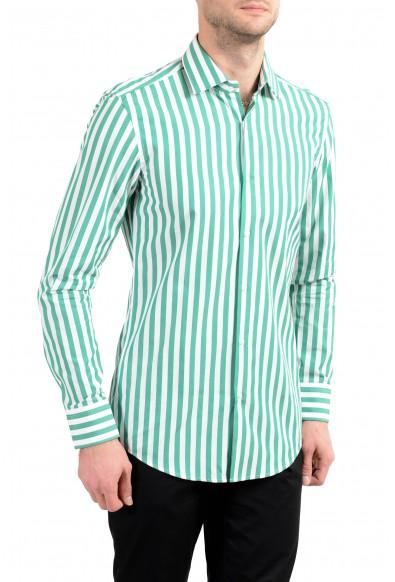 "Hugo Boss ""Juan"" Men's Striped Slim Long Sleeve Dress Shirt"