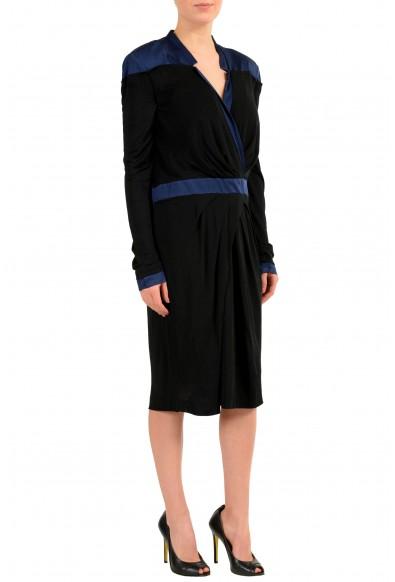 Viktor & Rolf Multi-Color Long Sleeve Women's Sheath Dress: Picture 2