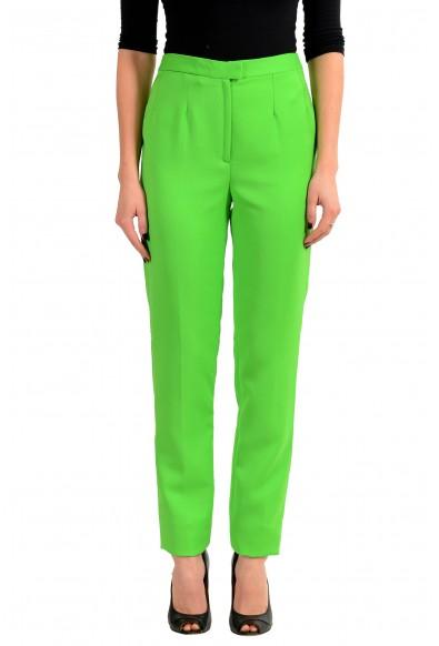 Maison Margiela Green Women's Casual Pants