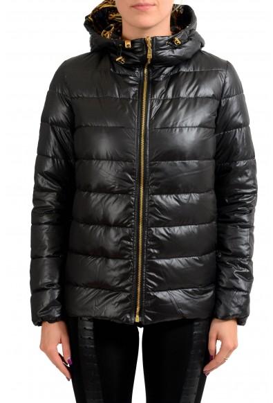 Versace Versus Reversible Goose Down Women's Parka Jacket