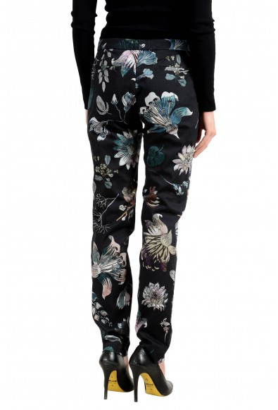 Versus by Versace Women's Floral Designed Stretch Casual Pants: Picture 2