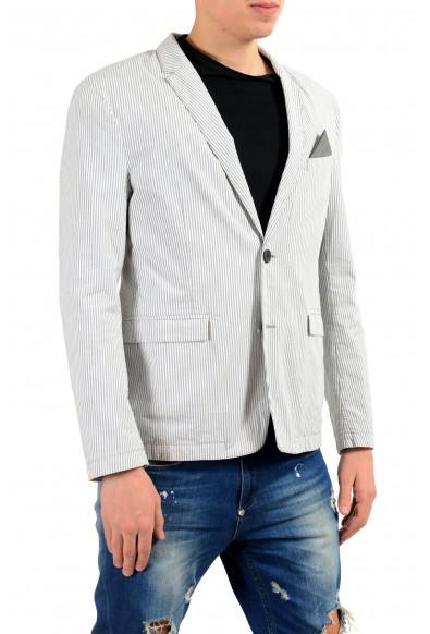 "Hugo Boss ""Bans_BS-W"" Multi-Color Striped Two Button Men's Blazer: Picture 2"