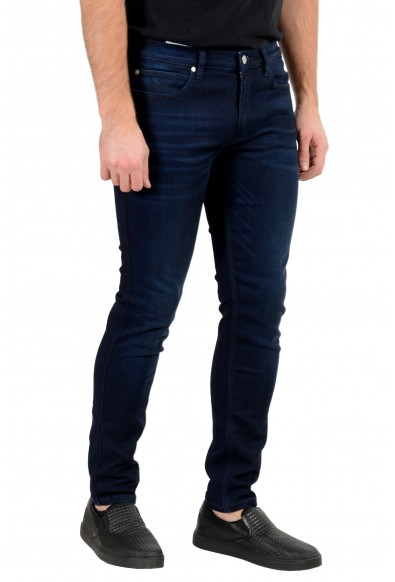 "Hugo Boss Men's ""Hugo 734"" Skinny Fit Dark Blue Wash Stretch Jeans : Picture 2"