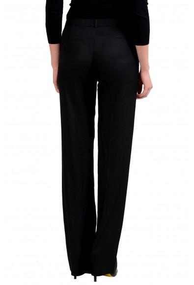 Maison Margiela 4 Women's Usual Shape Wool Silk Black Dress Pants: Picture 2