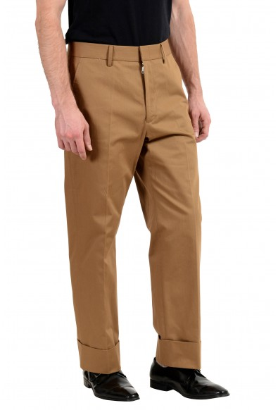 Gucci Brown Striped Men's Casual Pants: Picture 2