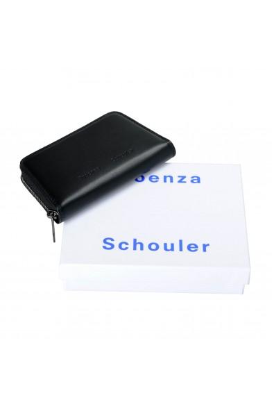 Proenza Schouler Women's Black 100% Leather Trapeze Zip Compact Wallet